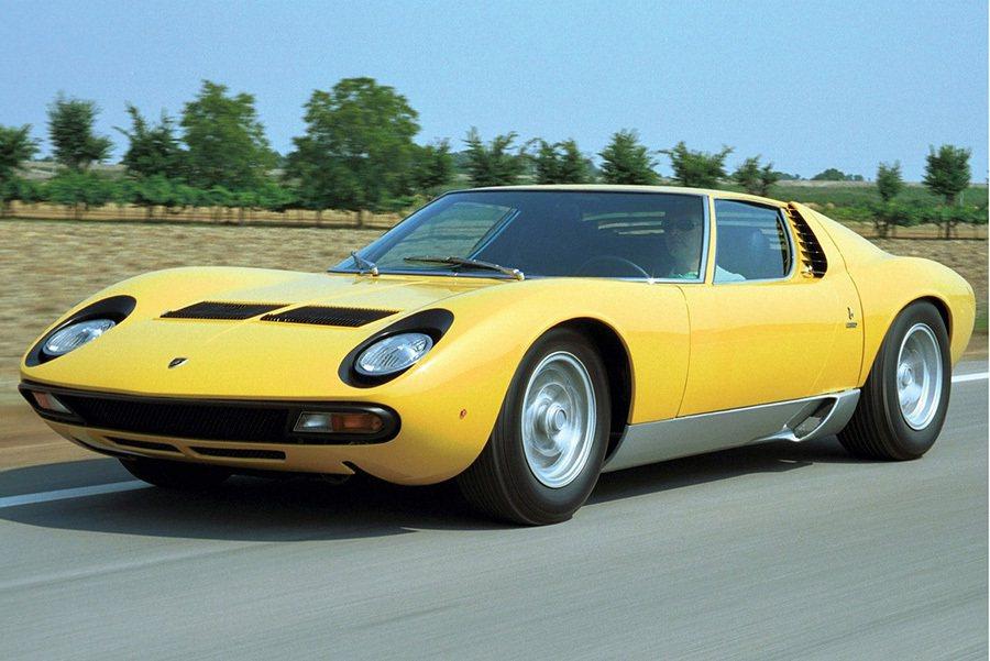 經典Lamborghini Miura車款 Lamborghini提供