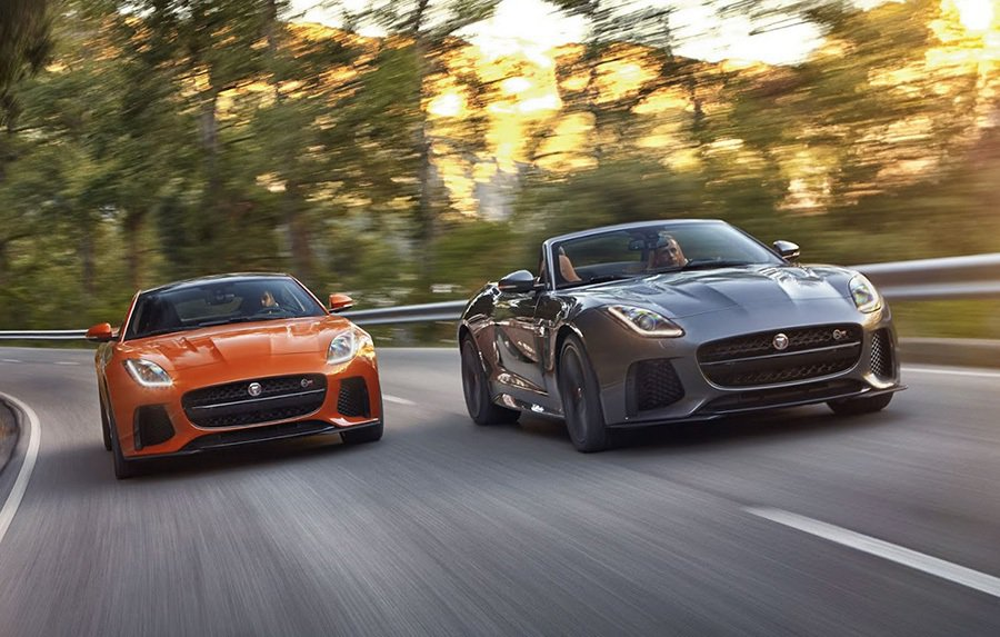 Jaguar F-Type SVR。 Jaguar Land Rover提供