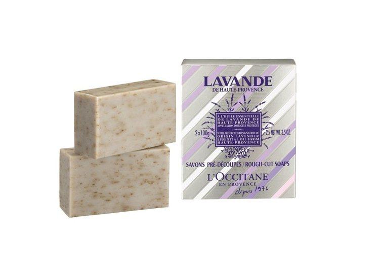 L'OCCITANE夏日薰衣草香氛皂2x100g/680元。圖/歐舒丹提供