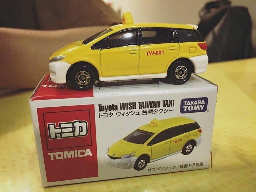 Toyota Wish計程車模型現身多美小汽車展。 聯合報系資料照