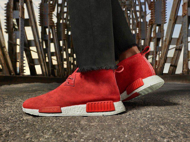 adidas「NMD」潮鞋,在全球一百個城市熱銷40萬雙。圖/adidas提供