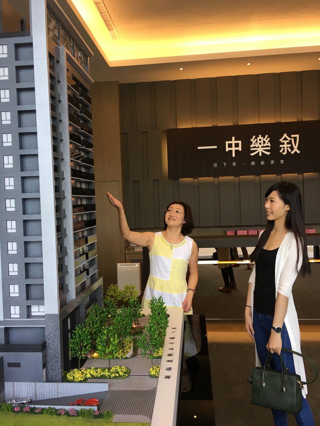 台中房地產市場最近以低總價小宅當道,銓威建設在台中太平區推出首購型小豪宅「一中樂...
