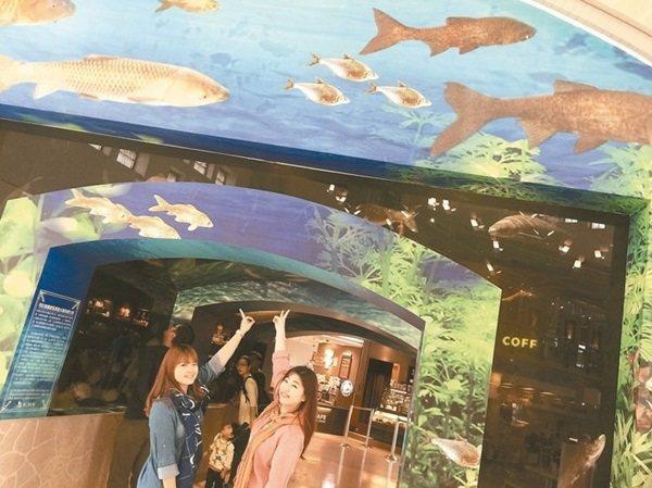 東山服務區內有不僅有寵物天堂區可溜達,還有水漾魚隧道可遊覽,在酷夏的季節中不失為...