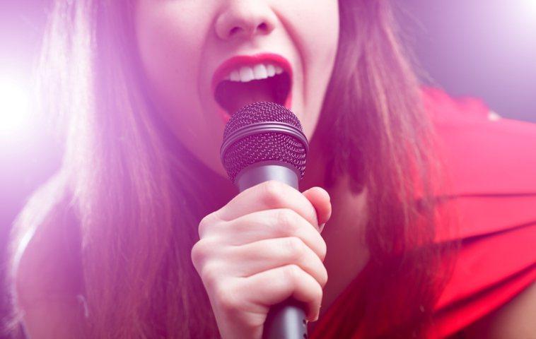 唱歌示意圖。 圖/ingimage