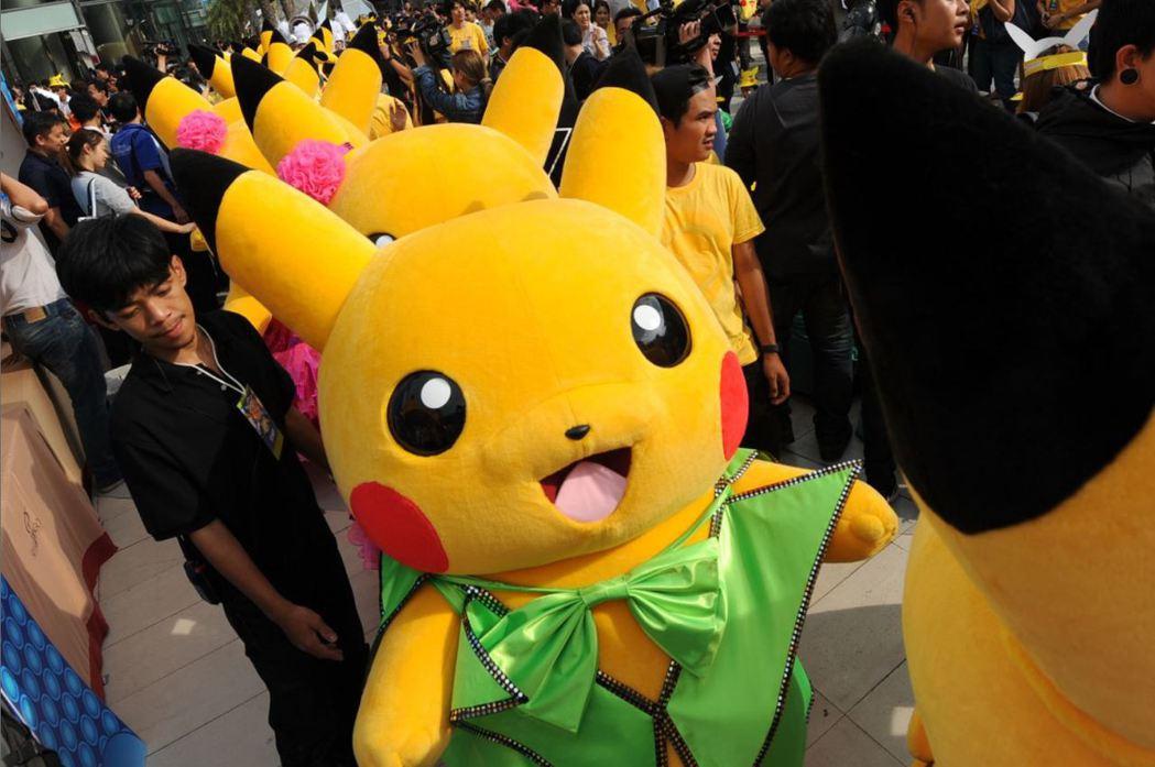 精靈寶可夢(神奇寶貝)在全球各國皆擁有高人氣,擁有多種週邊產品及電玩遊戲。 圖/新華社