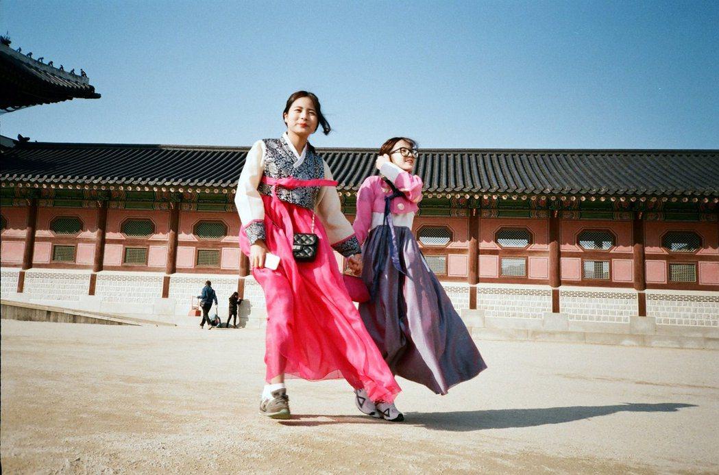 景福宮為韓國觀光聖地。 photo credit:鳴人堂