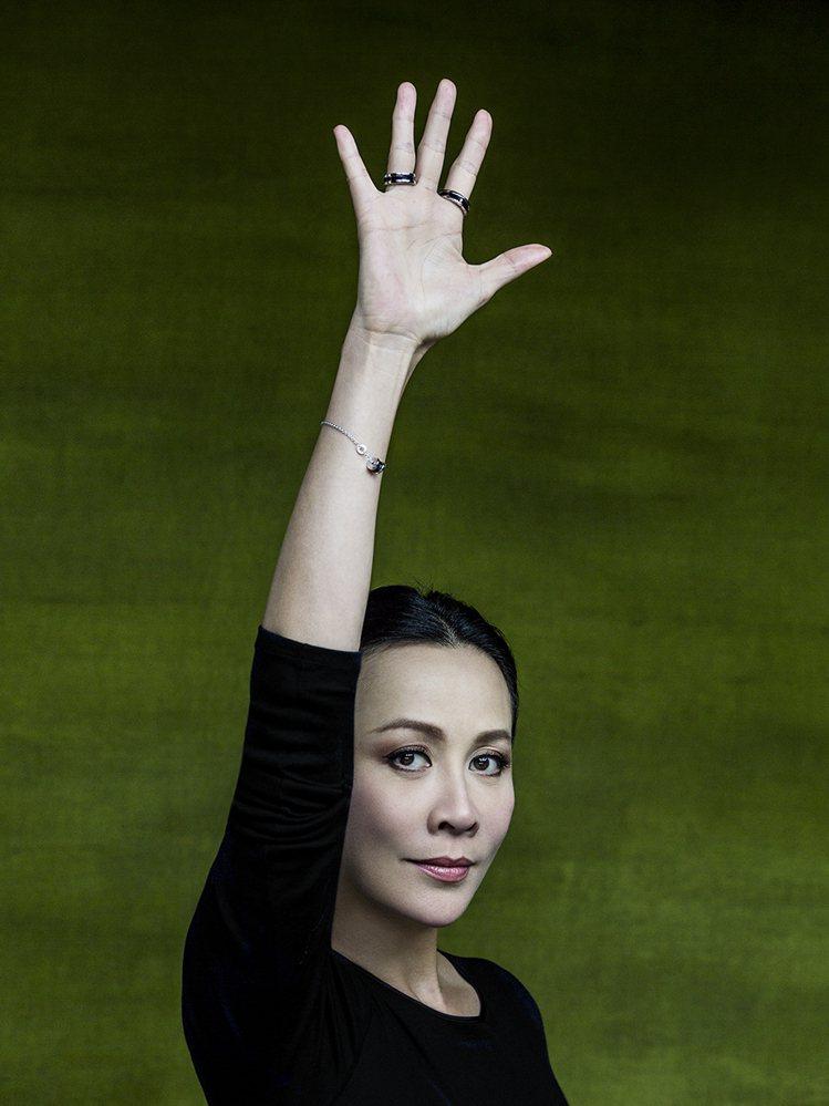 劉嘉玲響應寶格麗#RAISEYOURHAND慈善活動。圖╱寶格麗提供
