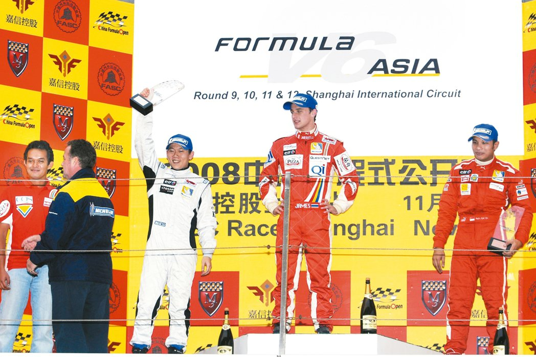 Formula V6 Asia是陳乃嘉回亞洲客座的重要賽事。 圖/林俊良攝影、陳...