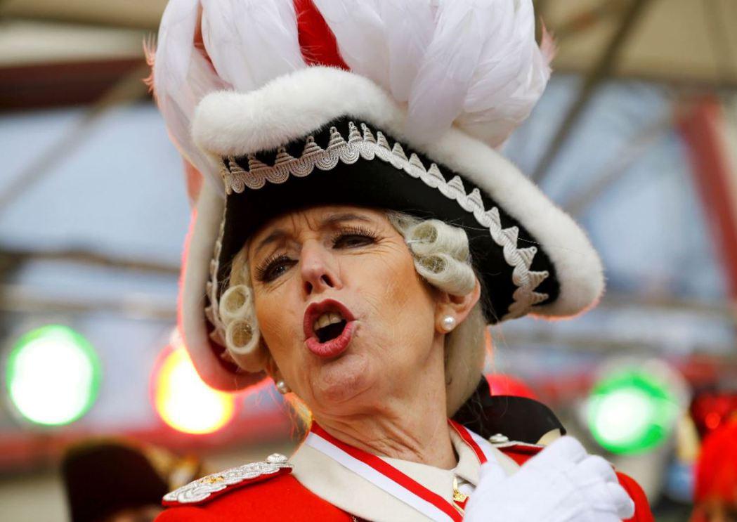 德國科隆在新年發生大規模騷擾事件後,科隆知名慶典「女人節」(Weiberfast...