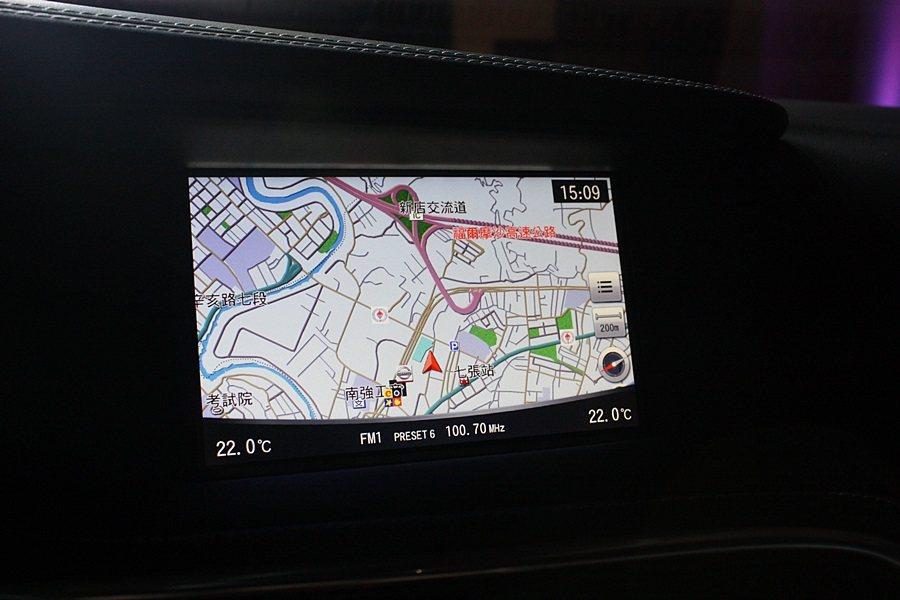 中控台7吋觸控螢幕。 記者林和謙攝影