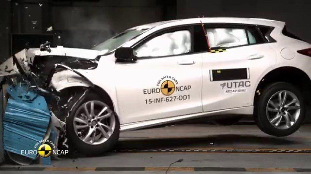 Q30不但贏得EuroNCAP 5顆星的最高安全評價,並獲選EuroNCAP最佳...