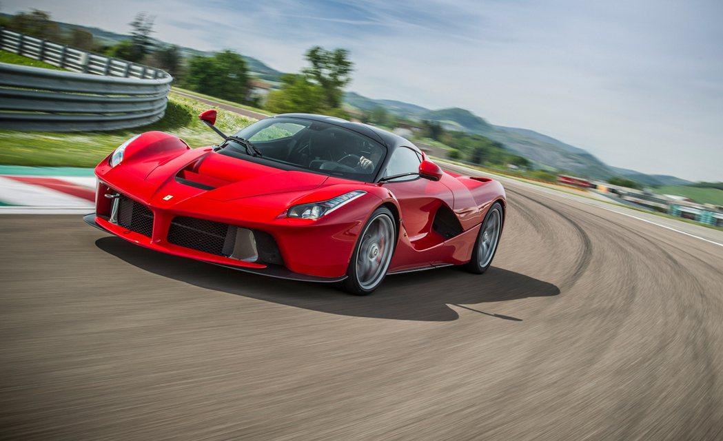 提到Ferrari,第一印象就是鮮紅配色。 圖/Ferrari提供