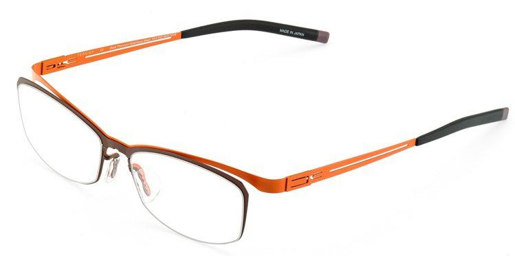 TenXion TNR系列光學眼鏡,10,600元。圖/永三提供