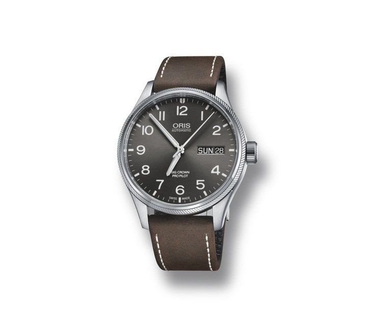Oris Big Crown ProPilot 日曆星期表,51,000元。圖/...