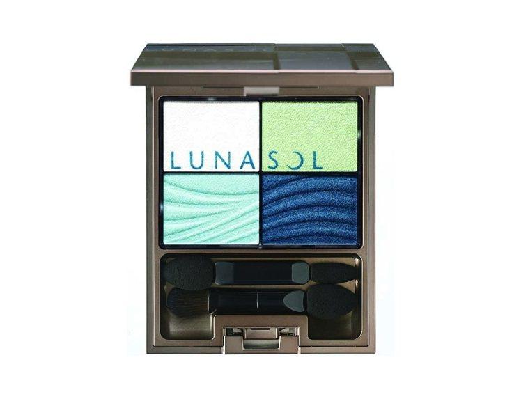 佳麗寶LUNASOL晶巧光燦眼盒(澄色)#EX01,售價1,800元。圖/佳麗寶...