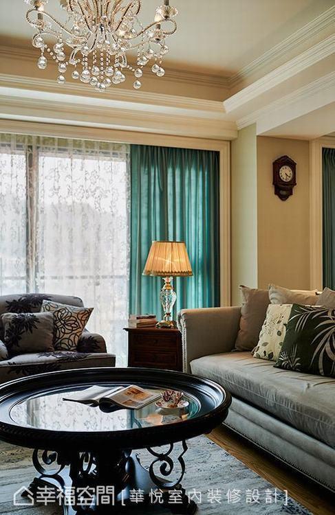▲家具軟件:華悅室內裝修設計利用家具、軟件的布置,鋪述舒適宜人的居家質感。