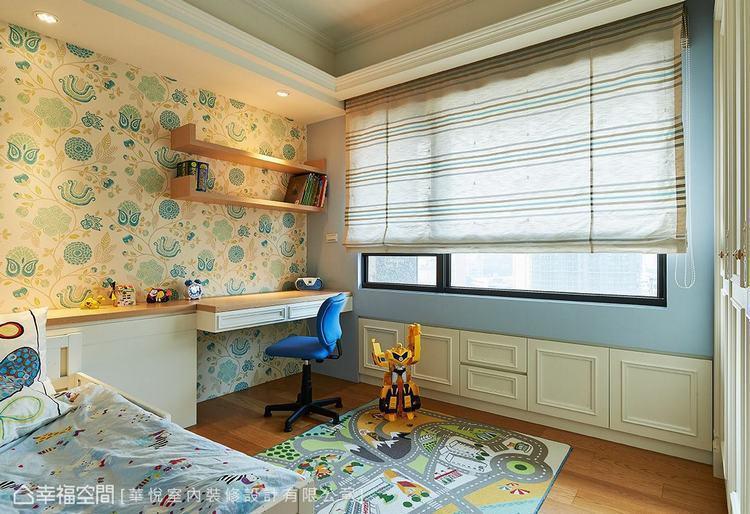 ▲畸零空間:利用窗戶下方的畸零空間,擴充實用收納機能,有效提升空間坪效。