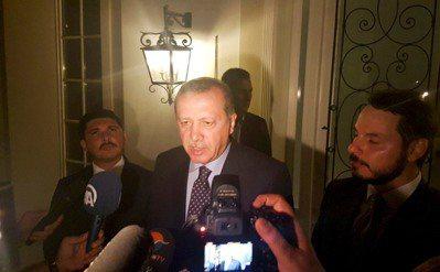 土耳其總統艾爾段(Recep Tayyip Erdogan)稍晚透過媒體表示自己...