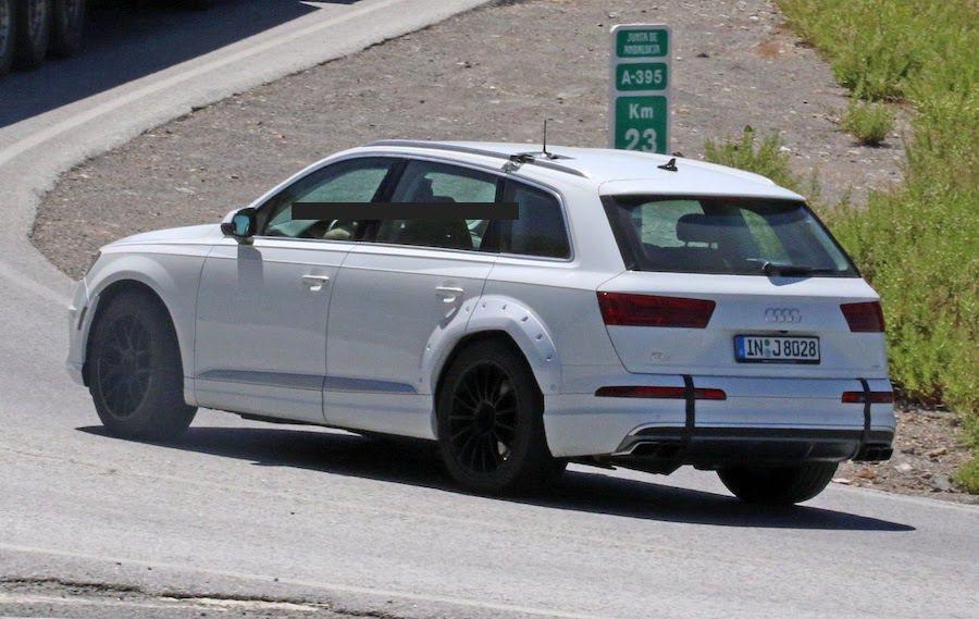 Audi Q8的對手將會是BMW X6以及Mercedes-Benz GLE車系...