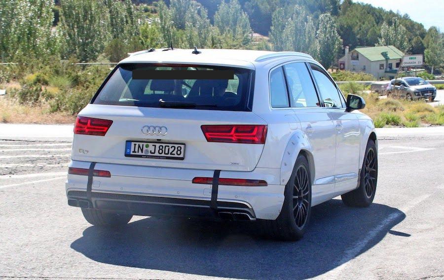 Audi Q8預計在2017年底發表。 摘自Carscoops.com