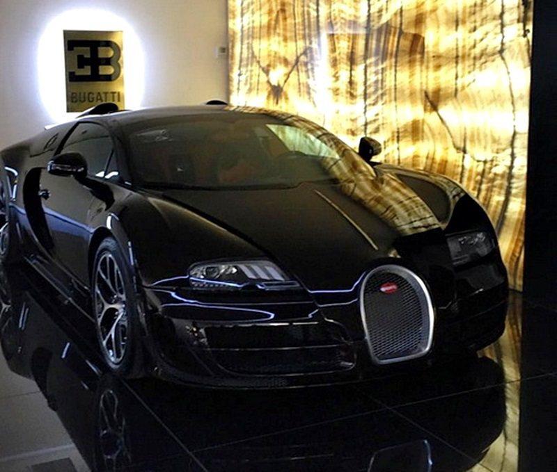 C羅買下一部Bugatti Veyron 16.4 Grand Sport Vi...
