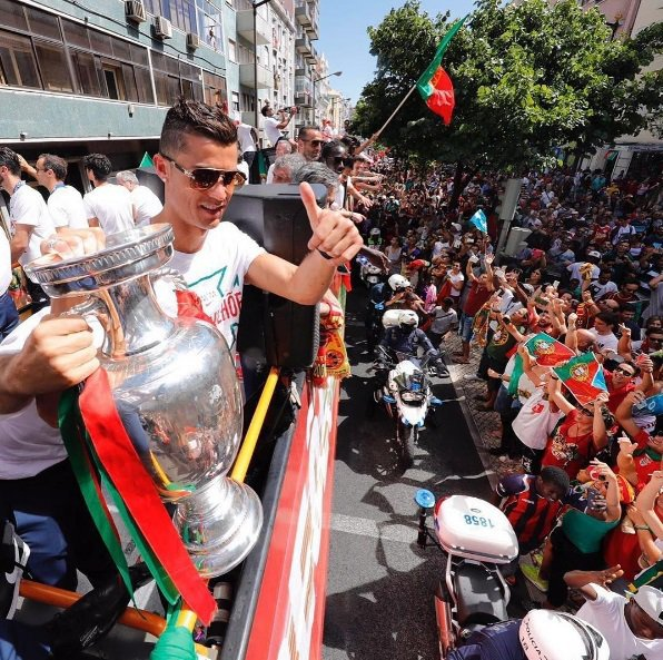 摘自Cristiano Ronaldo instagram
