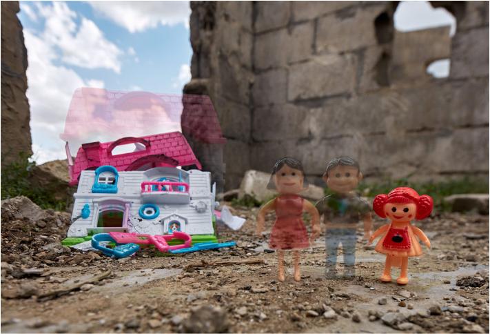 戰爭讓孩子的家園被摧毀,更有許多孩子因此成了孤兒。圖擷自Slate(07/1...
