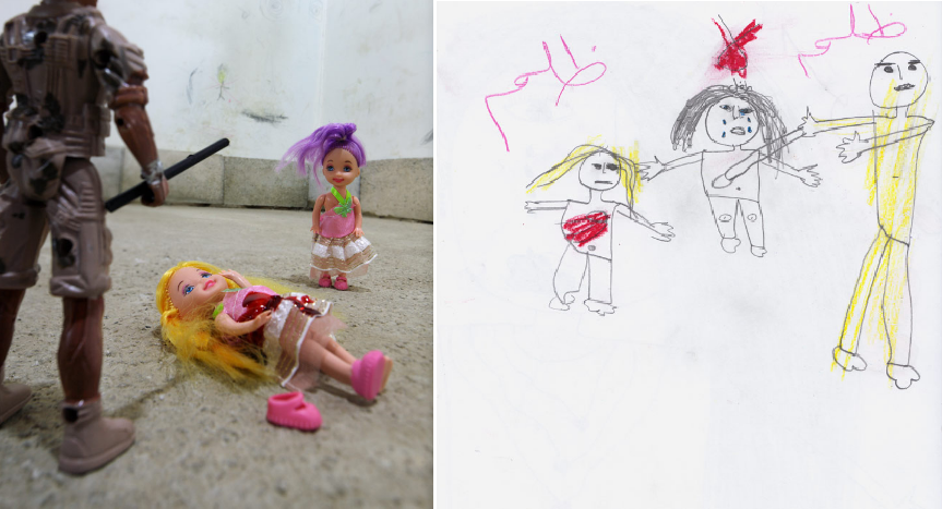 麥卡帝無奈的表示,這就是戰地兒童們每天經歷的一切。圖擷自Slate(07/1...