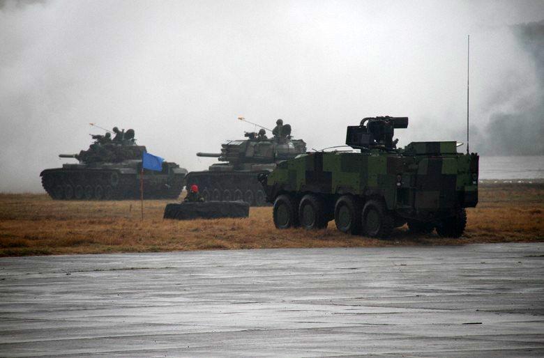 陸軍示意圖。 攝影/記者洪哲政