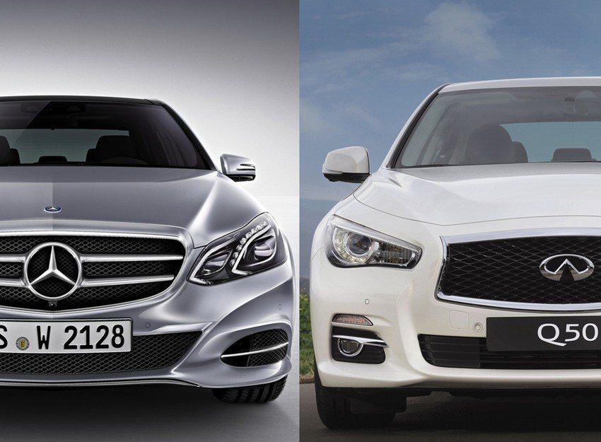 Infiniti與M.Benz合作,於Q50車型上導入2.0T M274-DE20AL引擎。 摘自Infiniti、Mercedes