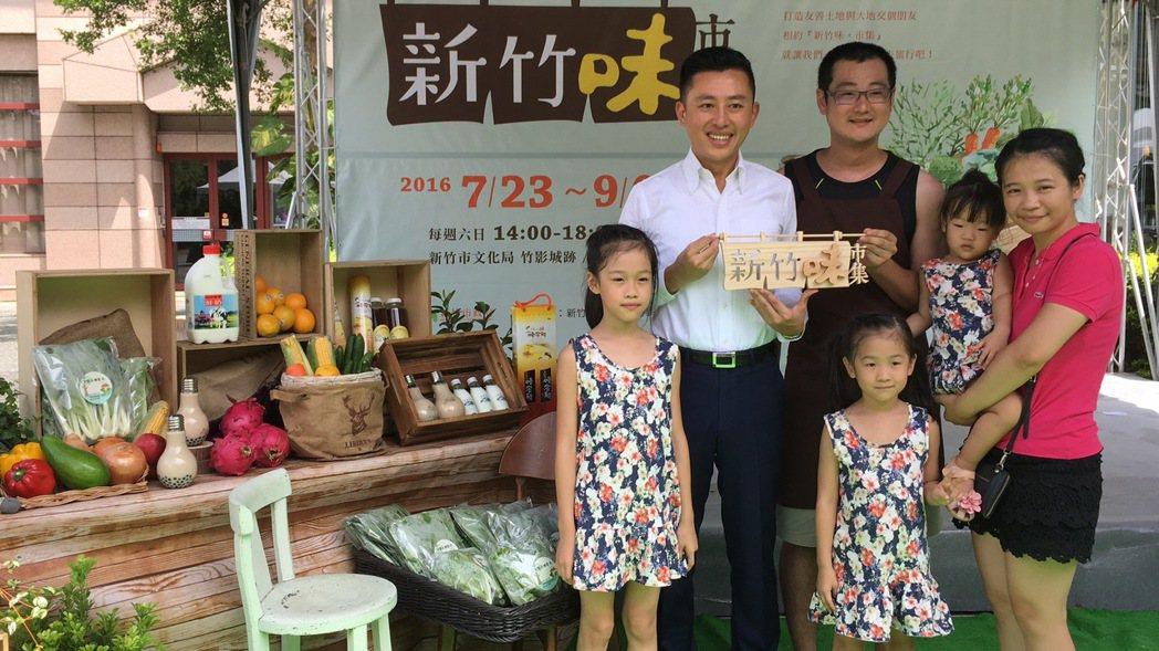 「味市集」提供小農、文創發揮舞台。記者蔡昕穎/攝影