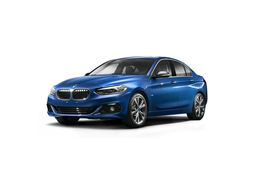 1-Series Sedan。 圖/BMW提供
