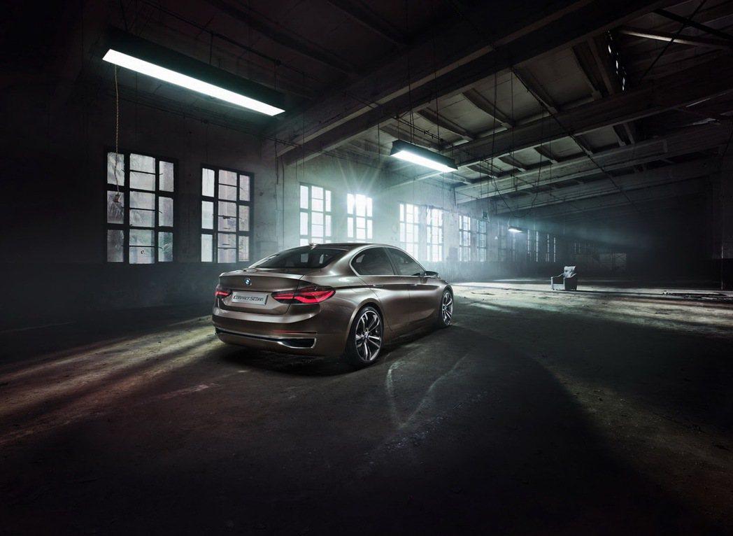 Concept Compact Sedan。 圖/BMW提供