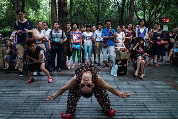 全球最吵公園!成都人民公園 爺媽跳到世界聞名