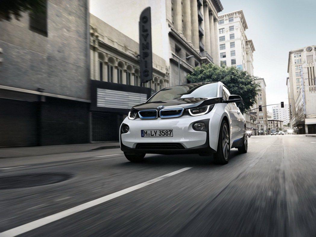 BMW i3。 摘自carscoops.com