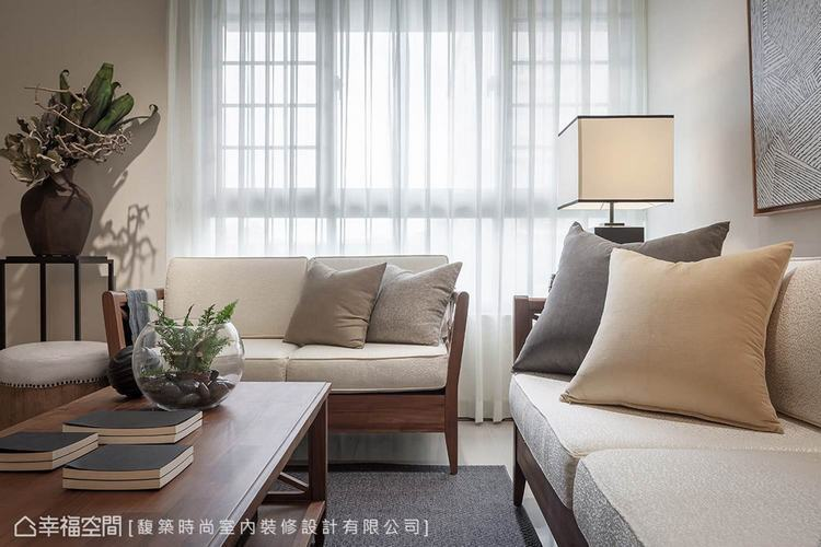 ▲木家具:利用實木家具創造舒適放鬆的氛圍,在光線伴佐下,形成自然意象。