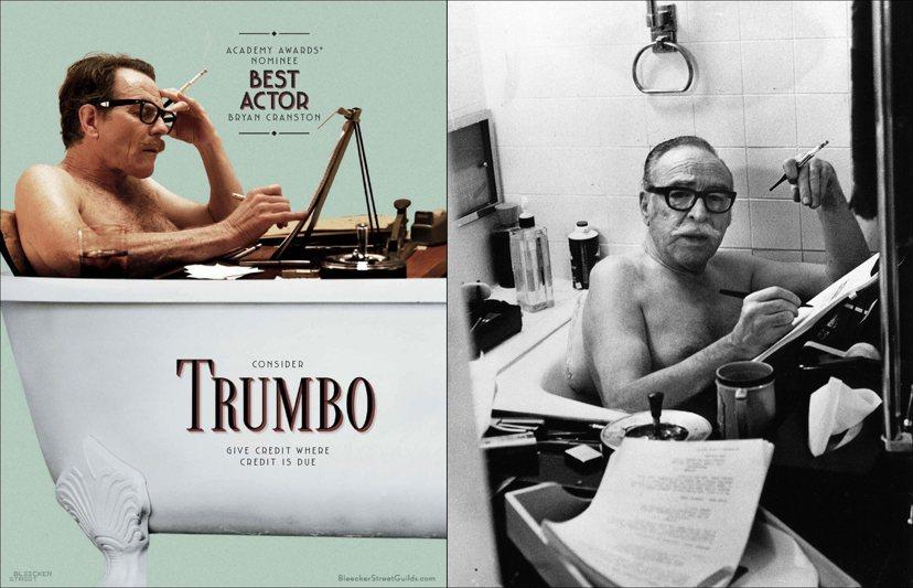 在恐懼的氛圍中,拍不出好電影:2015年上映的《好萊塢的黑名單》(Trumbo)...