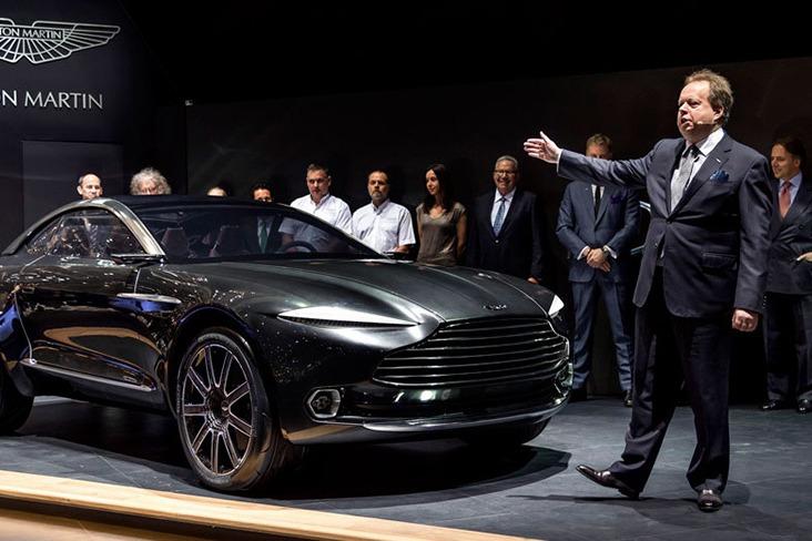 Aston Martin DBX休旅車與Rapide電動車將於3年內發表