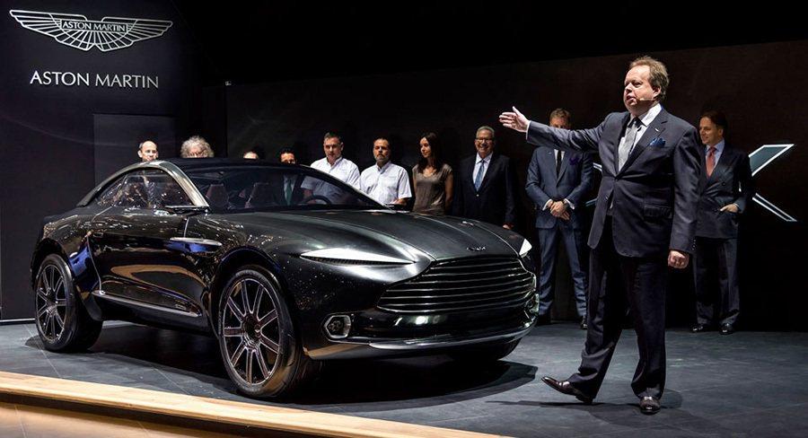 Aston Martin DBX跨界休旅車 Aston Martin提供