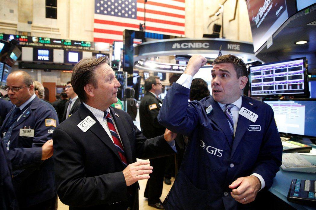紐約股市周二收盤漲跌互見,投資人開始懷疑這波漲勢恐怕無以為繼。(圖/路透)