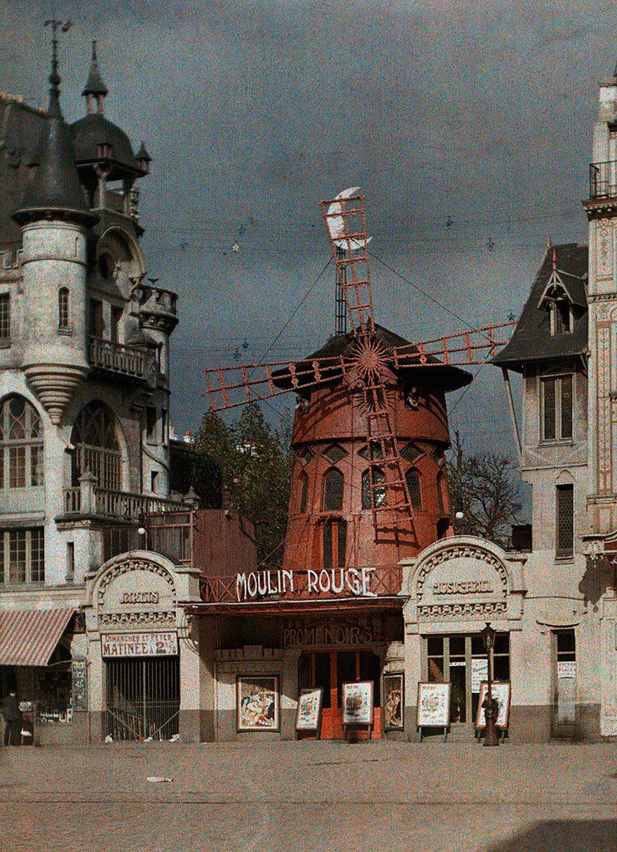 當時的紅磨坊。