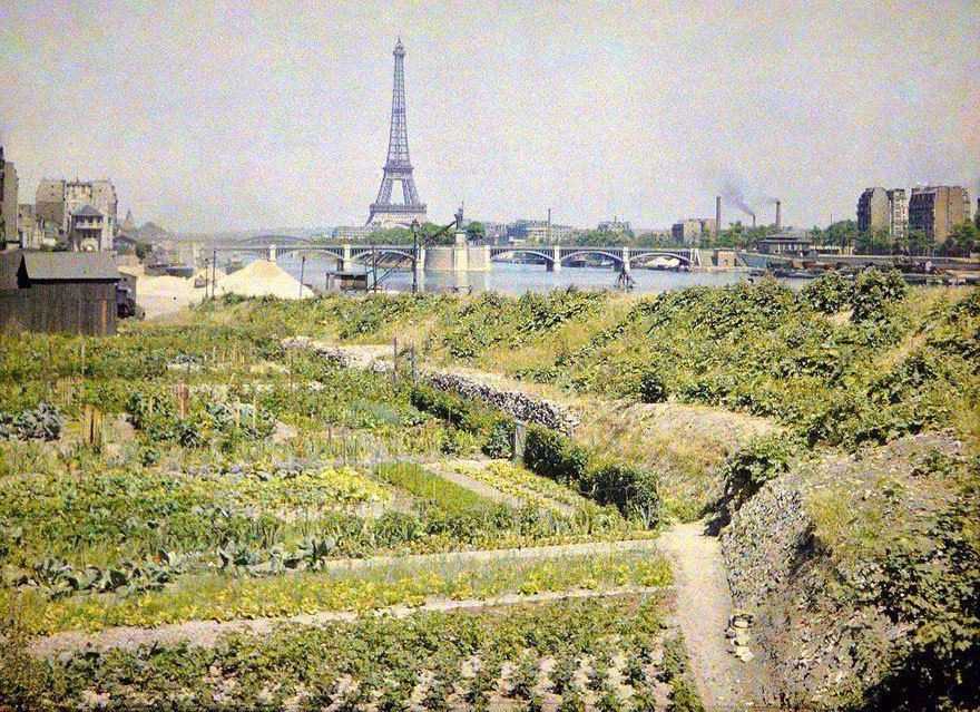 法國巴黎一景。