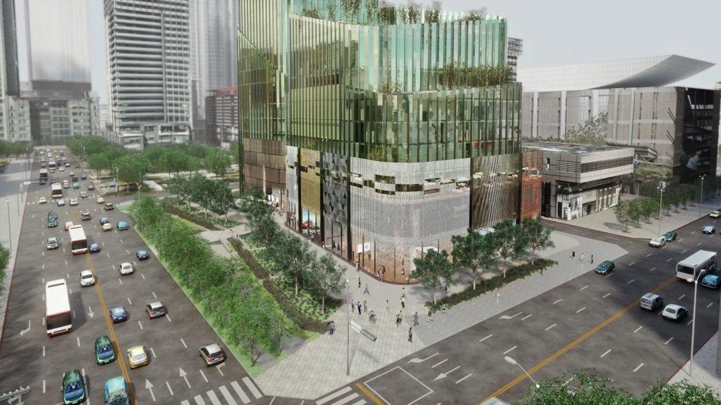 信義計畫區A7將成為國際級複合式地標大樓 ,並取名為「Taipei Sky To...