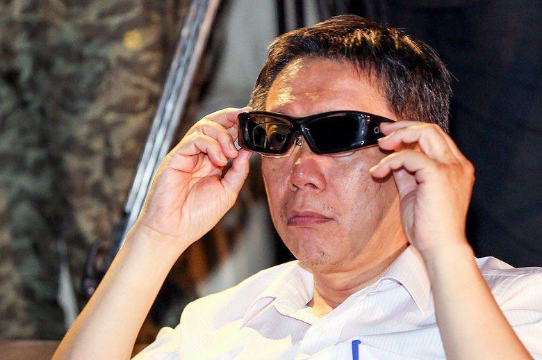台北市長柯文哲(資料照片)。 攝影/記者林伯東