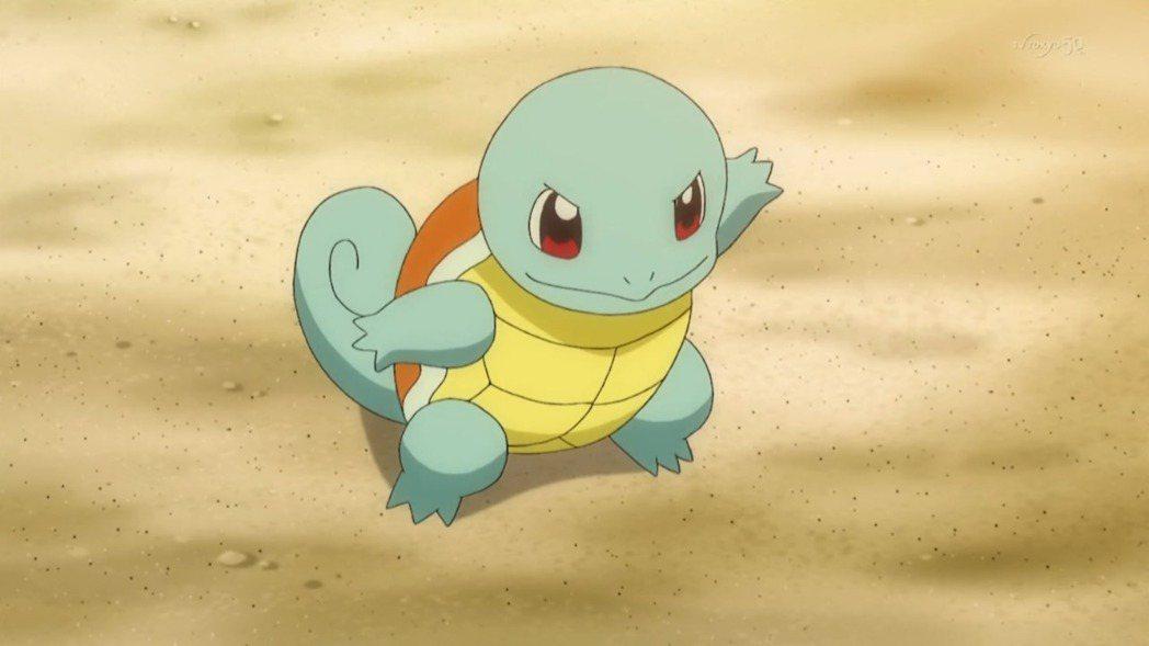 傑尼龜。 摘自pokemon.wikia.com