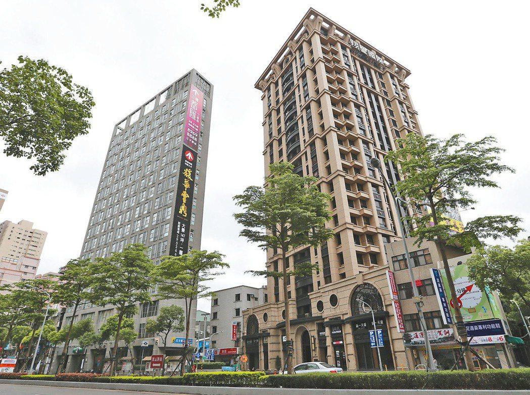 市調顯示,板橋房市在房價鬆動後,人氣快速升高。 報系資料照