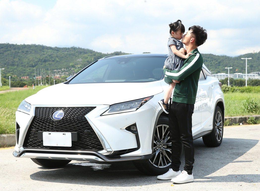 溫昇豪認為家庭車款除了要夠安全外,性能和空間也相當重要。 記者林澔一/攝影