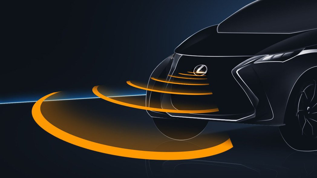 PCS 預警式防護系統。 圖/Lexus提供