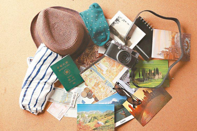 度假能紓壓並獲得快樂。 記者陳立凱/攝影