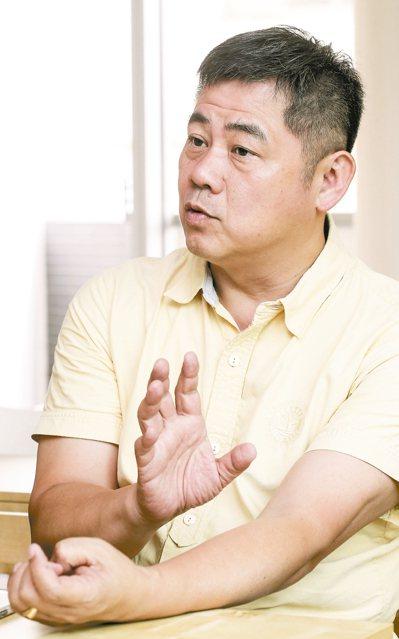 范特喜總經理鍾俊彥。 記者黃士航/攝影